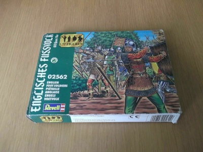 SOLDATINI 1/72 - REVELL TOY SOLDIERS 1/72 - 02562 - Hundred Years War English Foot Soldiers