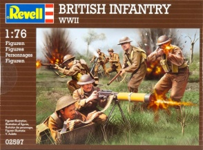 Set 02597  British Infantry WWII