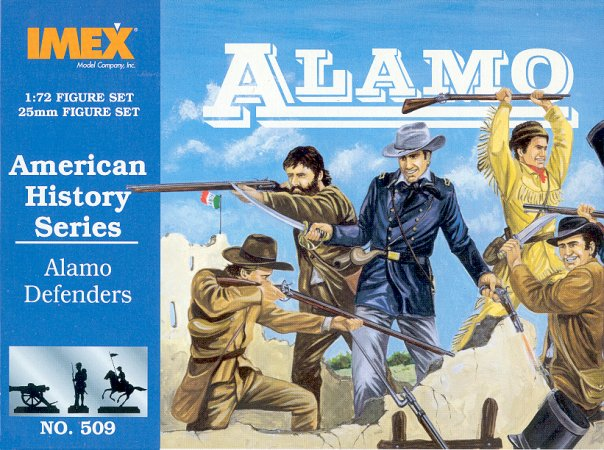 Soldiers, Figures IMEX 515 1/72 Alamo Mexican Cavalry Figure Set