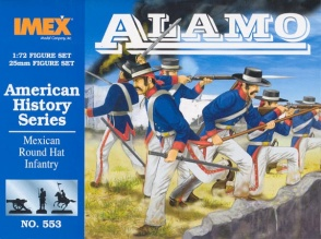 Set 553  Mexican Round Hat Infantry