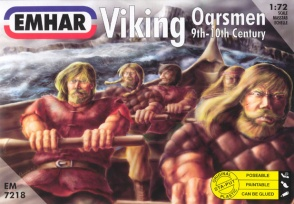 Set 7218  Viking Oarsmen