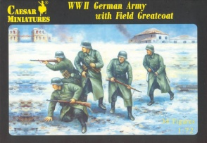 Set H069  WWII German Army with Field Greatcoat