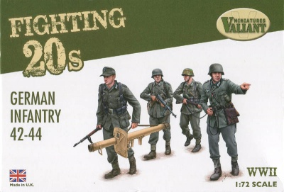Valiant FT001 WWII German Infantry 42-44