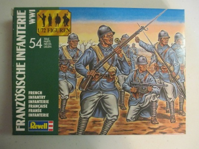 WW1 French Infantry -  COMPLETE BOX