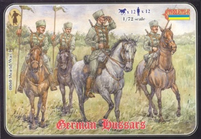 WWI 060 German Hussars