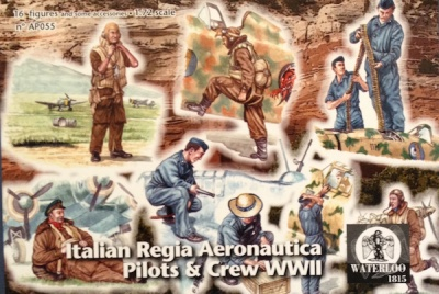 Waterloo 1815 - 055 World War II Royal Italian Air Force Pilots and Crew - Regia Aeronautica