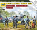 ZVEZDA 6187 WII Soviet Air Force Ground Crew